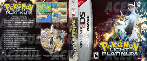 Light Platinum Rom Gba by Light Platinum Ds Gba Cover By Acesul On Deviantart