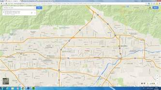 fontana california map