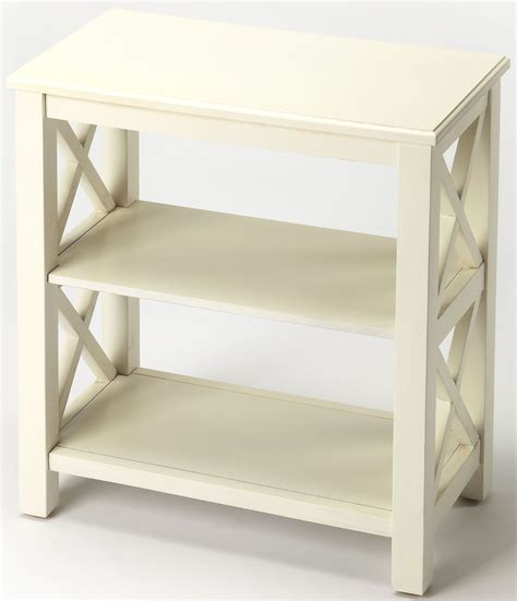 white cottage bookcase vance cottage white bookcase 4105222 butler