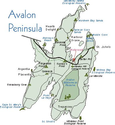 bright house avalon park map of newfoundlands avalon peninsula tour the avalon peninsula of newfoundland