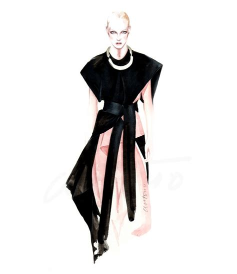 On Our Radar Stylecom Auctions Fashion Illustrations by Watercolor Fashion Illustrations