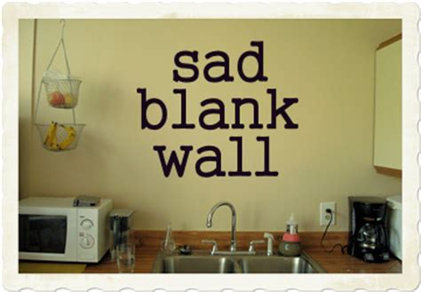 blank kitchen wall ideas blessons april 2010