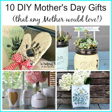 mothers day diy crafts 10 diy s day gifts any would