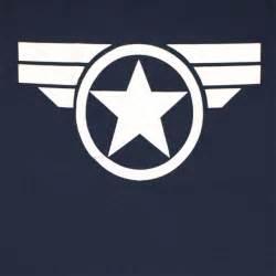 Bud Light T Shirt Captain America Good Ol Steve Logo Navy Blue Graphic Tshirt