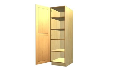 How To Make A Pantry Cabinet by 1 Door Pantry Cabinet