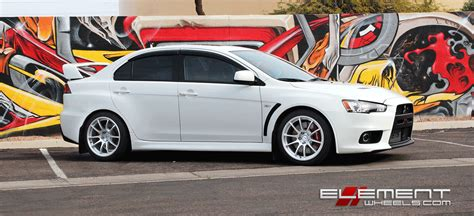 silver mitsubishi lancer black rims 18 inch miro 563 gloss silver wheels on mitsubishi lancer