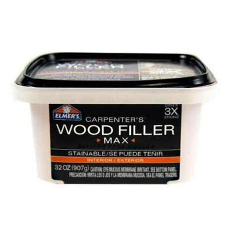 elmer s interior and exterior wood filler max qt