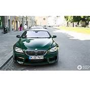 Individual BMW M6 Gran Coupe Stuns With Its British Racing Green Paint