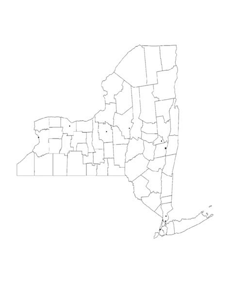 new york county free map free blank map free outline blank new york city map free download