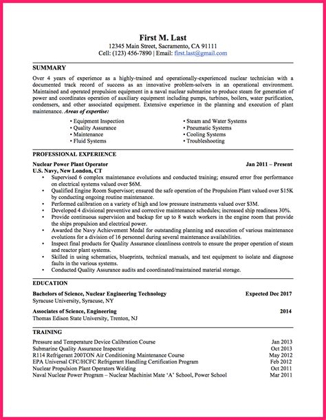 Resume Bio Exle by Army Bio Sle Stunning Submarine Machinist Mate Resume