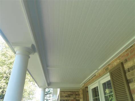 hardie beaded porch panel hardie hardiwrap siding installation project