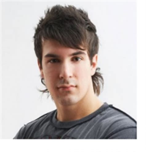 mullet haircut pics of men in g strings men mullet hairstyles with long spiky bang with layers png
