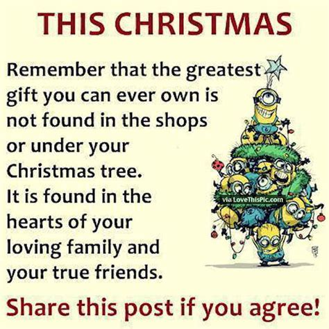 christmas minion quote  family  friends pictures   images  facebook