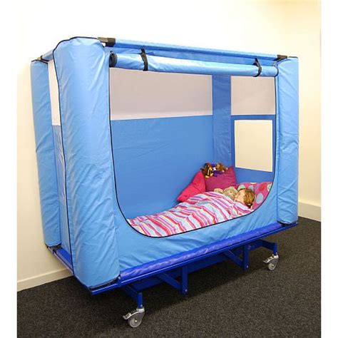 safe bed safespace hi lo sensory safe bed platform sports