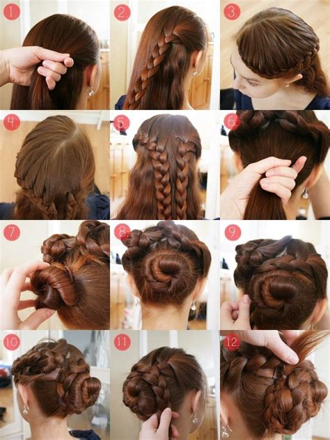 cool updos hairstyle for medium 17 best ideas about thick hair updo on simple