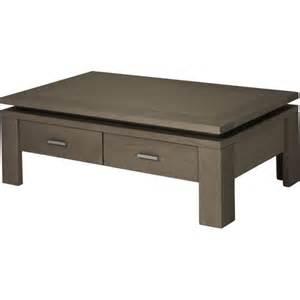 table basse tiroir table basse en chene avec tiroir phaichi