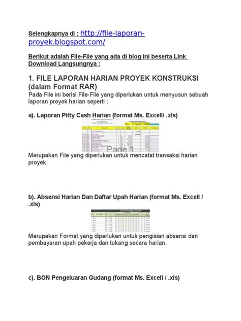 contoh laporan visit bandara dokumen tips contoh laporan proyek konstruksi baik laporan