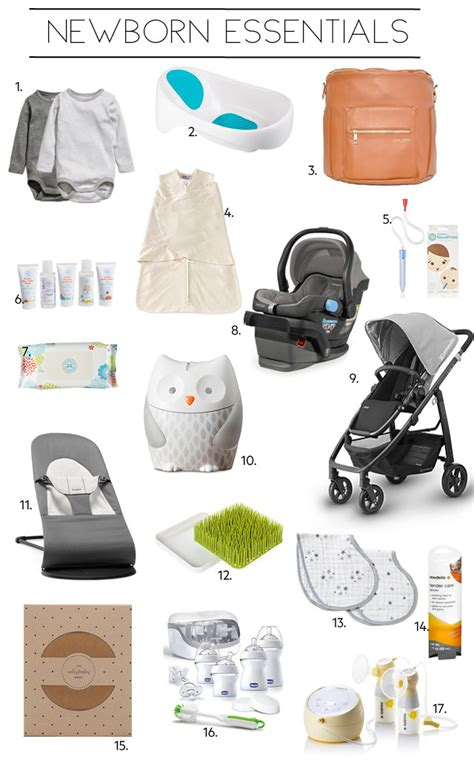 7 Must Haveb Aby Accessories by Newborn Essentials My Must Haves Items Lynne