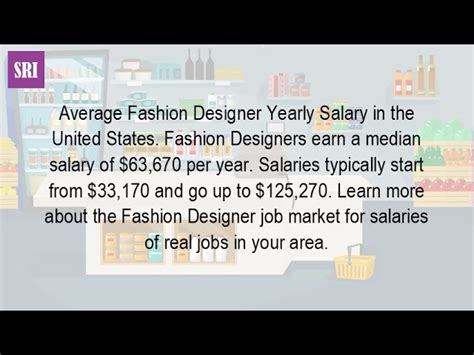fashion designers salary per year how much money do you make being a fashion designer
