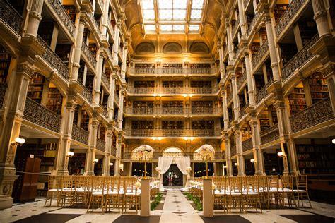 Peabody Library Wedding – George Peabody Library Wedding by Artful Weddings