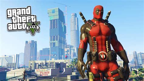 Mod Gta 5 Deadpool | gta 5 pc mods ultra realistic deadpool mod gta 5