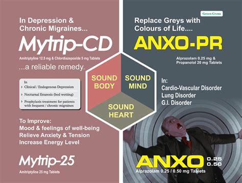 Propranolol Detox by Anxo Pr Tablet Propranolol Hcl 20 Mg Alprazolam 0 25 Mg