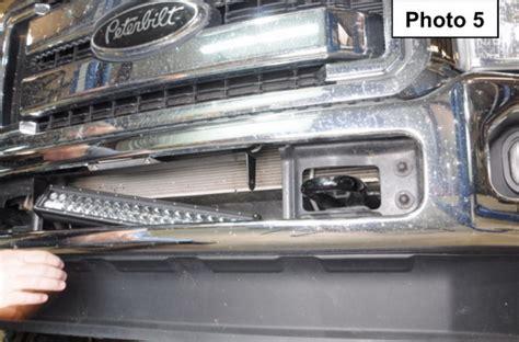 Installing Led Light Bar 120w High Power Led Light Bar For Ford F 250 F 350 Duty