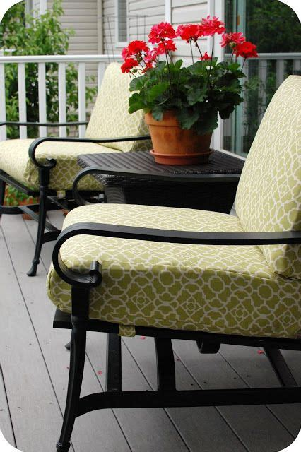 Recovering Patio Chair Cushions 25 Best Ideas About Recover Patio Cushions On Pinterest Patio Cushion Covers Cushions For