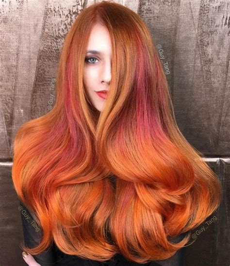 hair coloring ginger copper best 25 orange highlights ideas on pinterest ginger