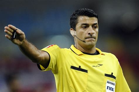 Sandro ricci will be the south american referee at the club world cup conmebol