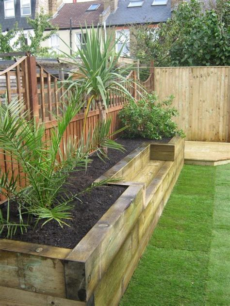 Backyard Planters Ideas by Built In Planter Ideas The Garden Glove