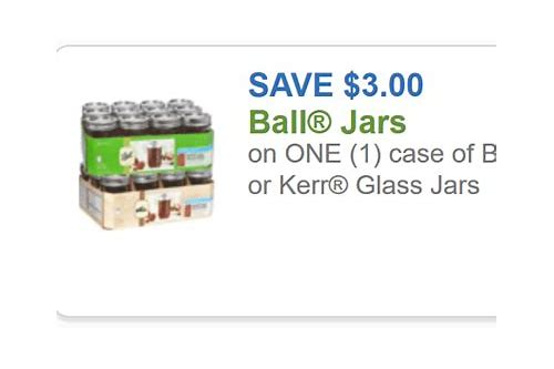 ball coupons canning