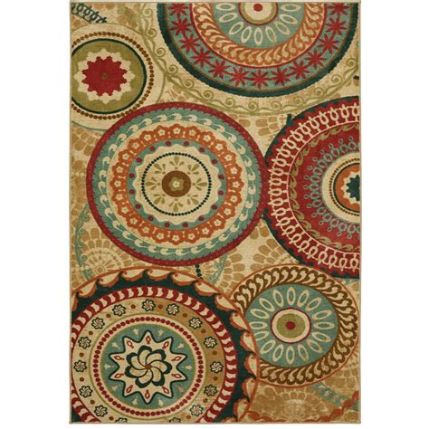 mohawk suzani rug mohawk home forest suzani toast 7 ft 6 in x 10 ft area rug 003171 the home depot