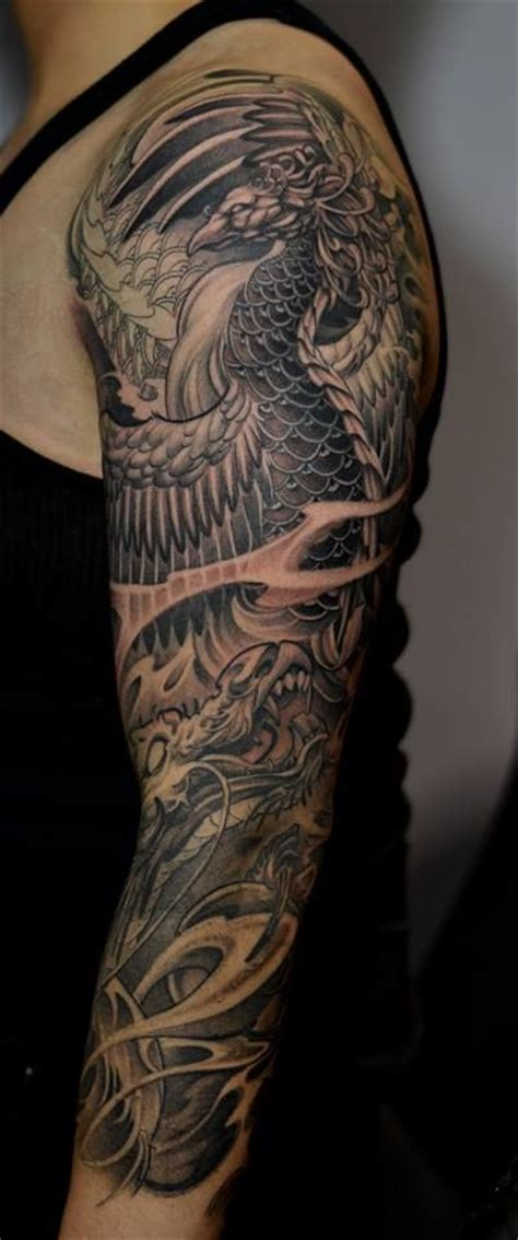 25 beautiful dragon sleeve tattoos ideas on pinterest