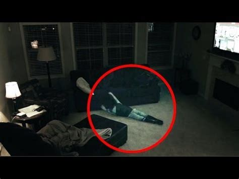poltergeist caught on tape pulling child across floor