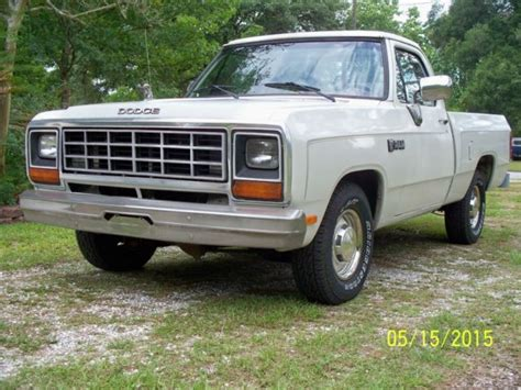 1984 dodge ram truck classic 1984 dodge ram d100 1 2 ton shortbed truck