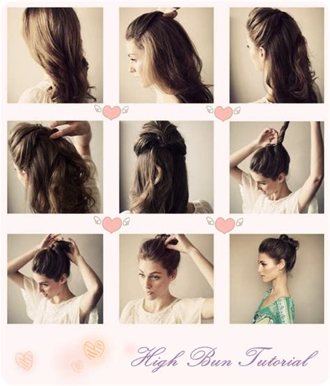puff hairstyles step by step bun gallery puff hairstyle pics step by step black