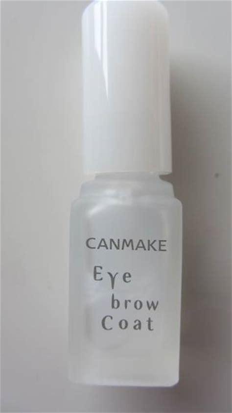 canmake waterproof eyebrow coat review