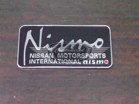 Jam Kademan 547 Kotak emblem nismo customixed autoproject kustoms team represent