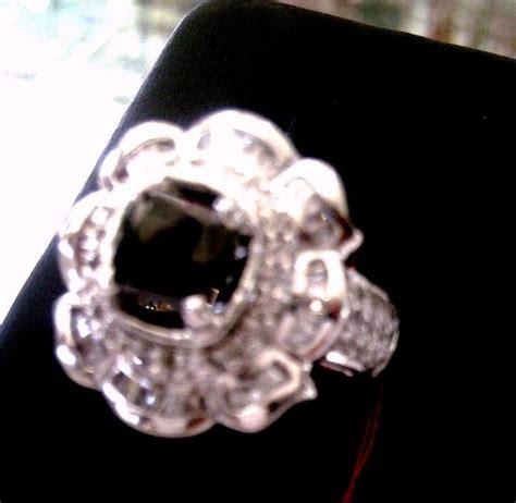 berlian hitam bunga new toko berlian kalimantan cincin berlian hitam model bunga