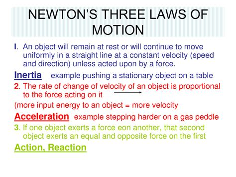 Pdf Three Laws Of Motion sir isaac newton 3 laws of motions search engine