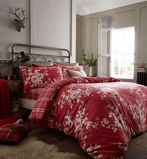 Bedset 160x200 canterbury brushed flannelette duvet set 100 soft cotton king size ebay
