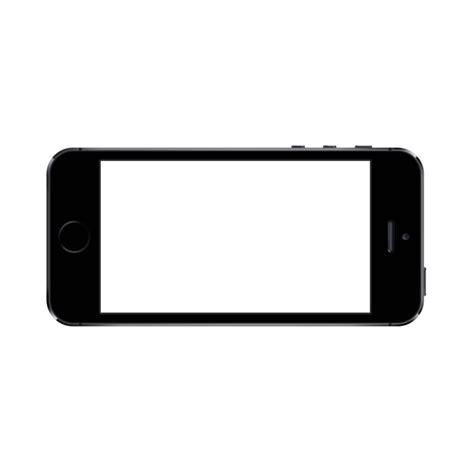 iphone 5 template transparent