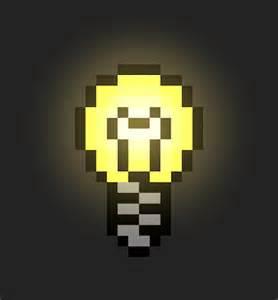 Pixel Lights by Alex Dlc Animated Pixel Lightbulb In Hexels