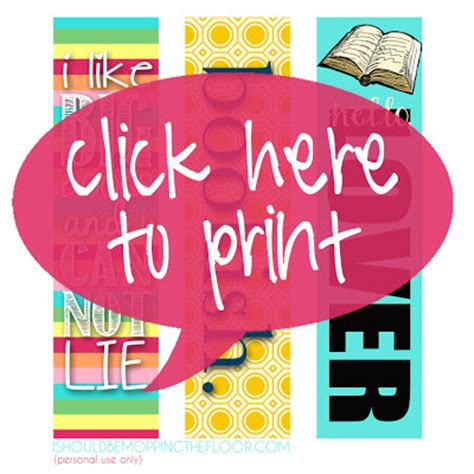 printable bookmarks cool 7 best images of cool printable bookmarks cool printable