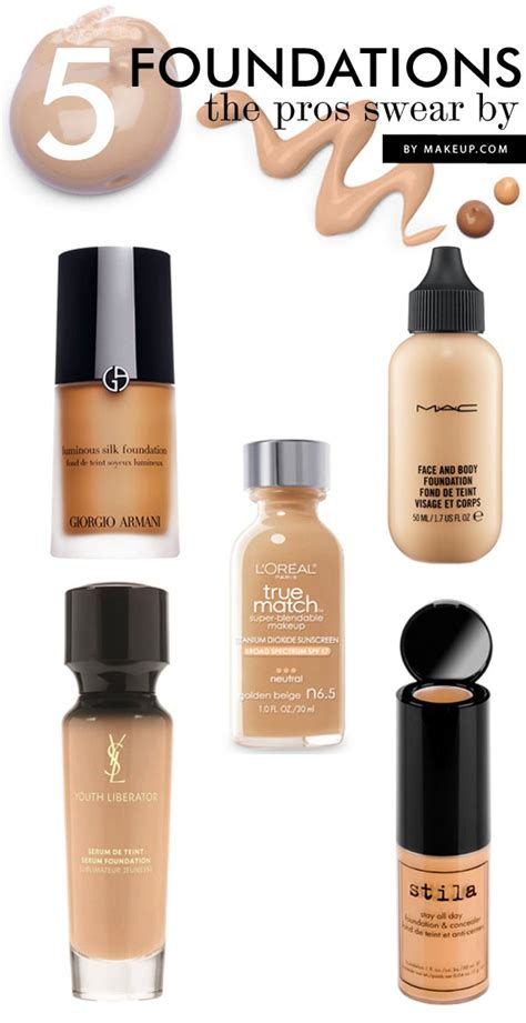 Test Make Up 5 fall foundations the pros swear by makeup