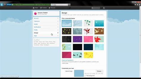 change layout on twitter how to change your twitter profile picture and background