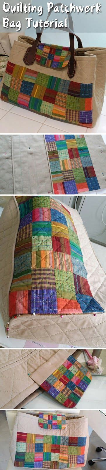 quilting patchwork bag tutorial diy step by step