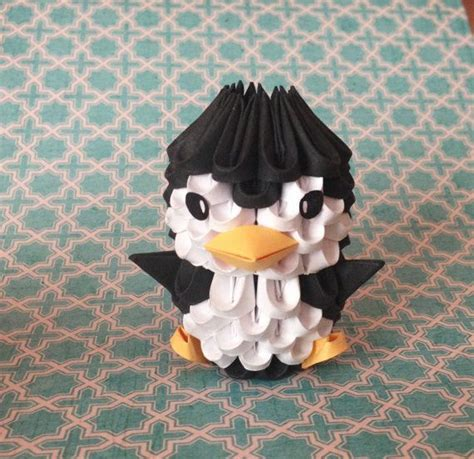 tutorial origami penguin 3d origami penguin from thearrings on wanelo cute stuff