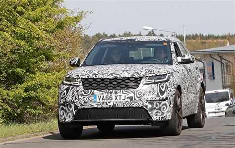 new land rover defender spy shots new 2019 range rover velar svr spied by car magazine